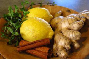 O chá que elimina o inchaço e a gordura da barriga rapidamente