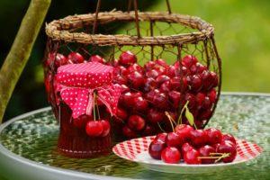 Compota de Cereja um ótimo doce para o verão